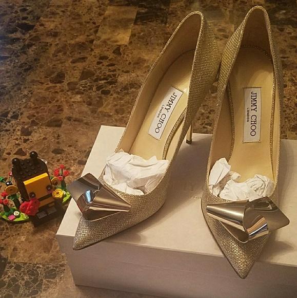 616be9e316ed ... size 38 4ab42 ireland jimmy choo veana gold glitter pump ed2f1 be55a  sale jimmy choo isabel glitter fabric women peep toe platform ...